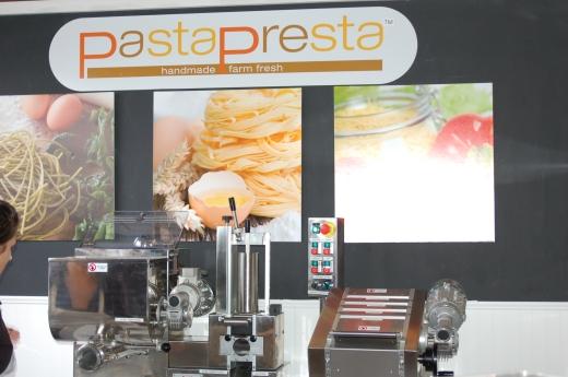 PastaPresta stand close-up